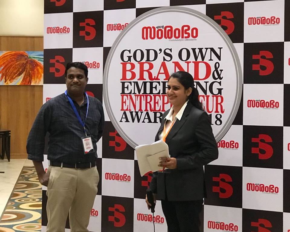 rajeesh envara samrambham best brand ENTE SAMRAMBHAM AWARDS 2018
